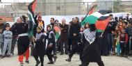 لجنة لاجئء خانيونس تفتتح المخيم الشتوي للاطفال