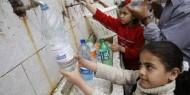 """""""اليونيسيف"""": أقل من 4% من المياه الجوفية في غزة صالحة للاستعمال"""