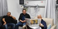 السيد الرئيس محمود عباس بصحة جيدة ويتابع مهامه اثناء وجوده في المستشفى