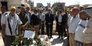وضع أكاليل من الزهور على أضرحة الشهداء في بيروت