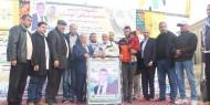 حركة فتح اقليم الشرقية تكرم عائلة الشهيد فارس ابو هجرس