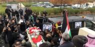 تشييع جثمان الشهيد أبو دياك في الأردن