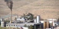 """600 مصنع في مستوطنة """"بركان"""" تلوث حياة المواطنين"""