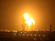 هجوم إسرائيلي على مواقع في محيط دمشق