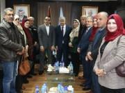 محافظ القدس ووزير التنمية يبحثان سبل تعزيز صمود المقدسيين