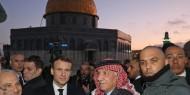 """ماكرون يطرد شرطة الاحتلال من أمام كنيسة """"الصلاحية"""" بالبلدة القديمة في القدس"""