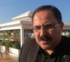 د. صبري صيدم خلال جولة له في الأقاليم الجنوبية والأطر القيادية لحركة فتح