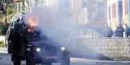 إصابات بالاختناق خلال مواجهات مع الاحتلال في قفين شمال طولكرم