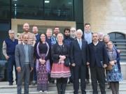 عورتاني يطلع اتحاد المعلمين البريطاني على انتهاكات الاحتلال بحق التعليم