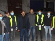 حركة فتح اقليم الشرقية تطلق مبادرة جديدة للتعقيم و مكافحة وباء كورونا من امام الصرافات الالية .