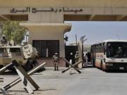 سفارتنا بالقاهرة: 2500 مواطن غادروا معبر رفح خلال الثلاثة ايام الماضية